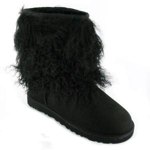 Boots / Bottines boots femme bottines femme Short Sheepskin Cuff Boot