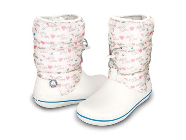 Crocband Winter Boot Hello Kitty