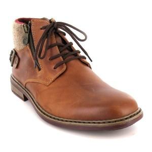 f279b0f5ff6c08 Bottines Homme - Chaussures montantes en cuir - Chaussmart