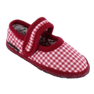 Chaussures Enfant pantoufles enfant chaussons enfant Ballerina Vichy
