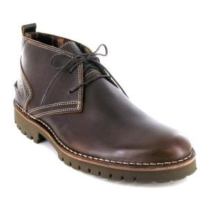 Bottines chaussures detente a lacets homme Maxime