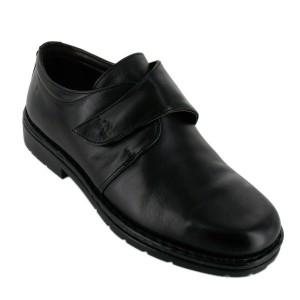 chaussures velcro chaussures de ville Galaxi 3259