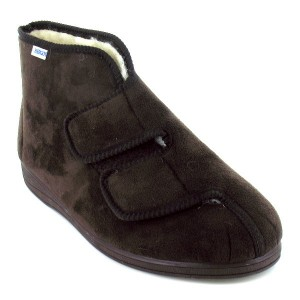 Chaussons Pieds sensibles chaussons fourres H064