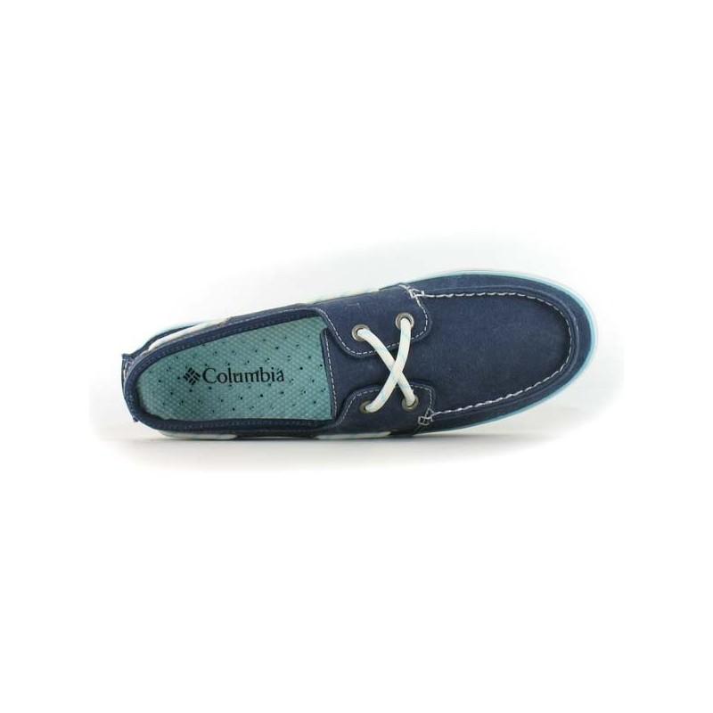 Chaussures bateau Vulc N Vent Boat Canvas   Chaussmart