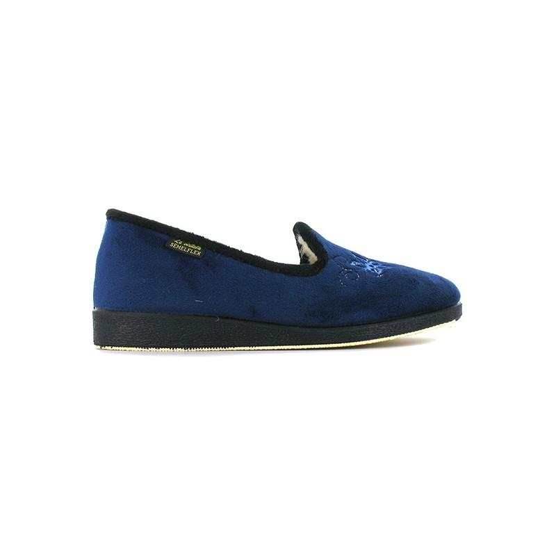 chaussons fourr s caloandr e pantoufles pour chaussures femme chaussmart. Black Bedroom Furniture Sets. Home Design Ideas