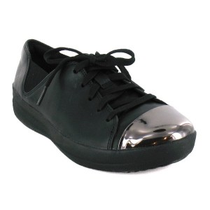 baskets basses femme Sporty Mirror Toe Sneakers
