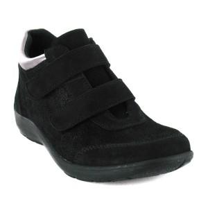 Chaussures à Velcro baskets basses femme Emeraude
