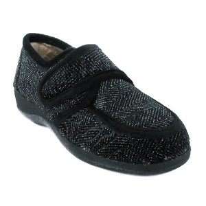 Chaussures à Velcro chaussons pieds sensibles femme BR3125