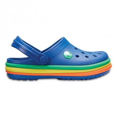 CB Rainbow Band Clog Kids