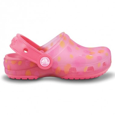 Translucent Clog Kids Bubbles