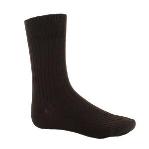 chaussettes bas Chaussettes côtelées en laine Merinos