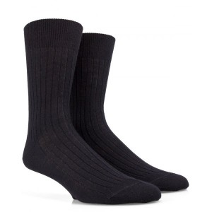 chaussettes bas Chaussettes côtélées en laine Merinos-Lot de 3 paires