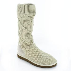 bottes femme Classic Argyle Knit Women