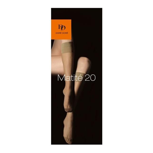 Chaussettes / Bas Mi-Bas Matité 20 D