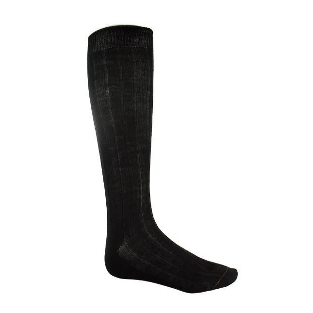 Chaussettes hautes homme 100 % Laine