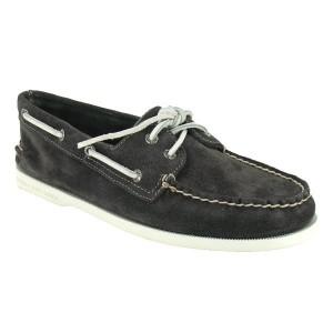 chaussures bateau homme Authentic Suède
