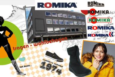 ROMIKA, le confort et la renommée de la marque Allemande