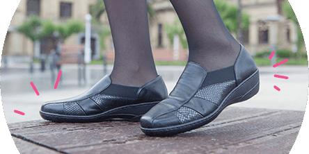 7405dbf5e07e13 Chaussures femme pour Pieds sensibles, Pieds larges & Grandes ...