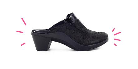 ea8b0806dd6e Mules femme confort - Cuir   Textile - Pieds sensibles - Chaussmart